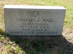 Hall Charles G Grave