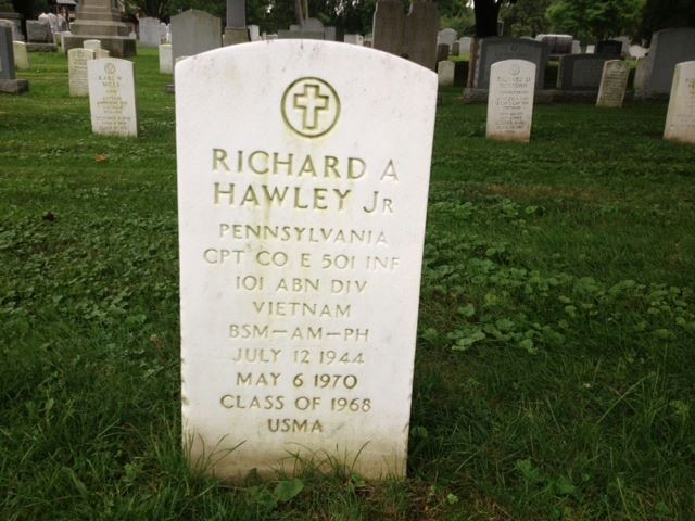 Richard Hawley Grave