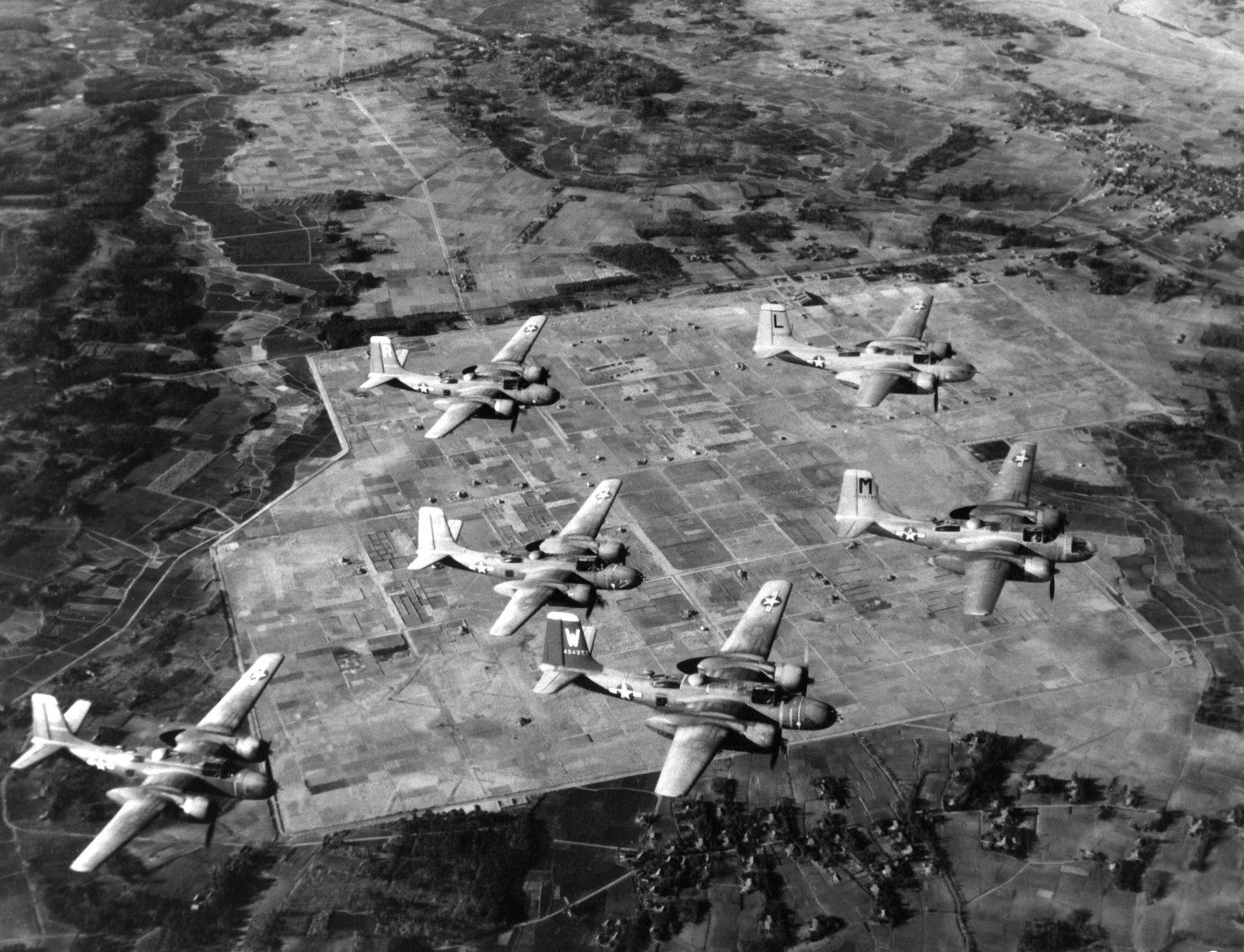 B-26 Invaders over Japan